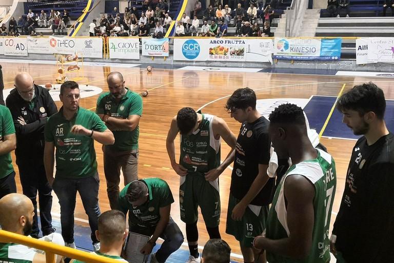 Basket Corato - Sconfitta a Pozzuoli