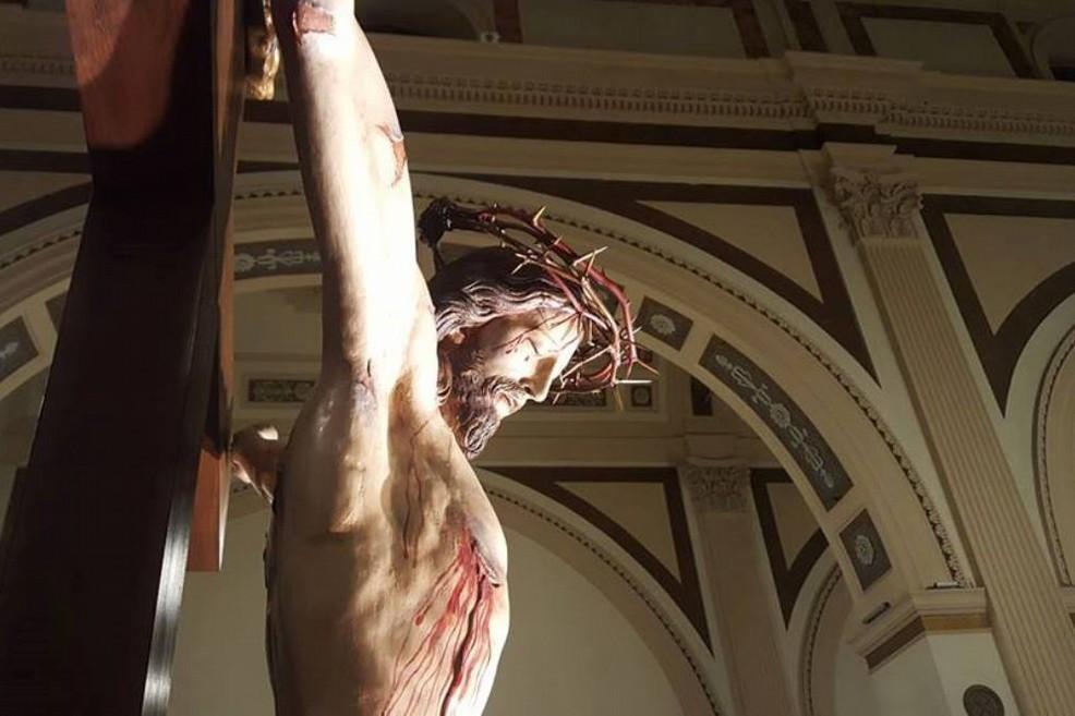 cristo in croce. <span>Foto Giuseppe Di Bisceglie</span>