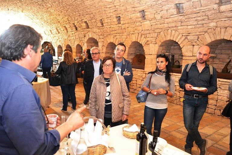 Cucine aperte - Masseria Cimadomo. <span>Foto Angelo Di Cugno</span>