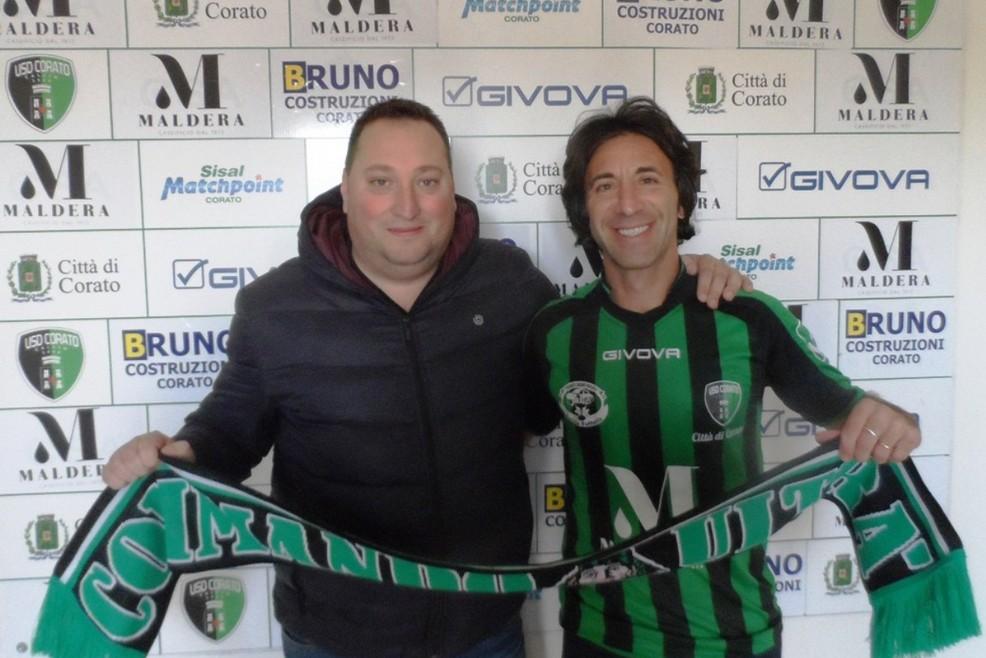 Amedeo Di Pinto col presidente Maldera