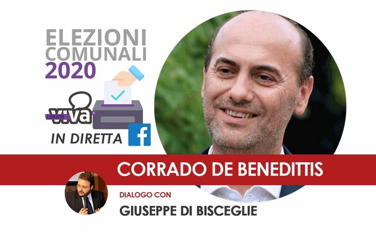 Diretta con Corrado De Benedittis