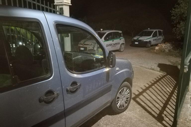 Auto Rubata - Guardie Campestri