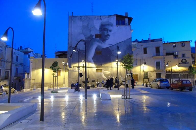 Piazza Di Vagno. <span>Foto Aldo Diaferia</span>