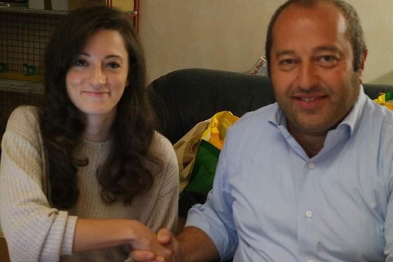 Nadia Saltarelli e Pino Soldano