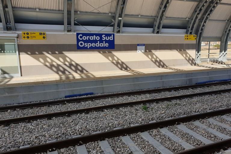 Fermata Corato Sud. <span>Foto Mario Conca</span>