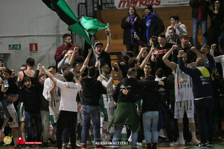 Festeggiamenti Corato Basket