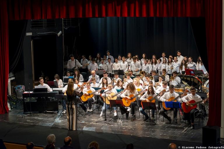 Il concerto degli studenti della De Gasperi
