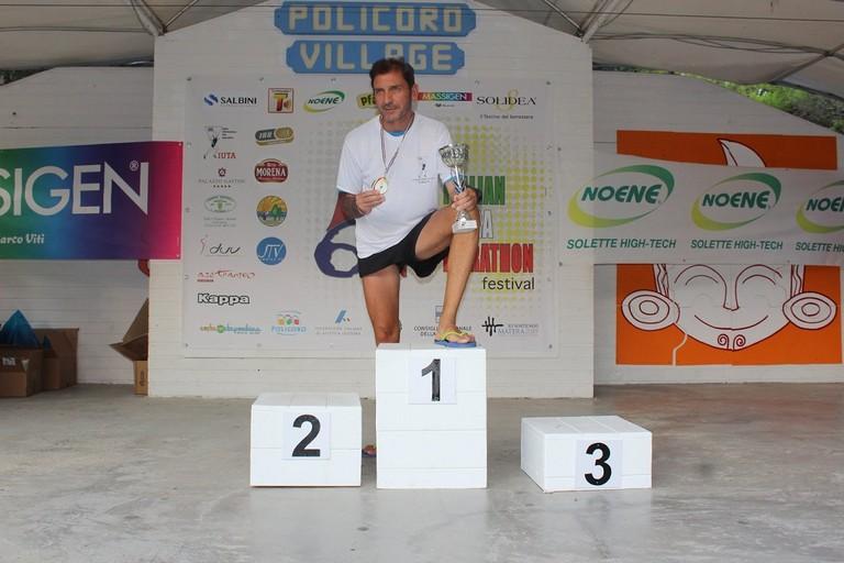 Giuseppe Mangione: Campione Italiano IUTA 100 Miglia categoria SM55