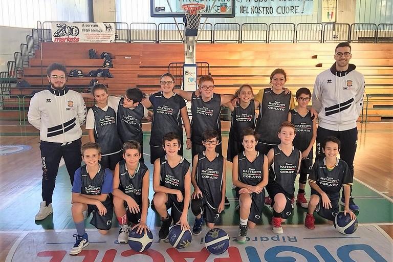 I partecipanti al torneo Minibasket Bassano del Grappa