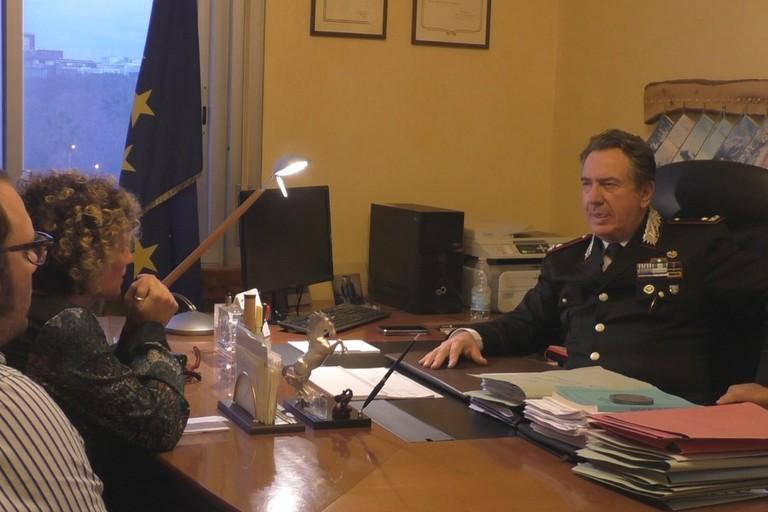 Fiorella Barile intervista il Generale Mostacchi