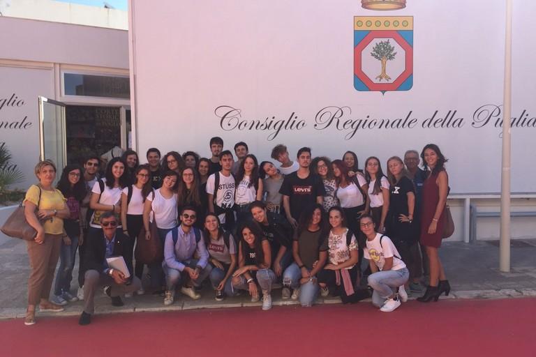 Studenti dell'Oriani alla Fiera del Levante