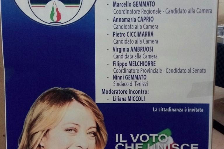 Fratelli d'Italia presenta i candidati alla Camera e Senato. <span>Foto Luciana Cusanno</span>