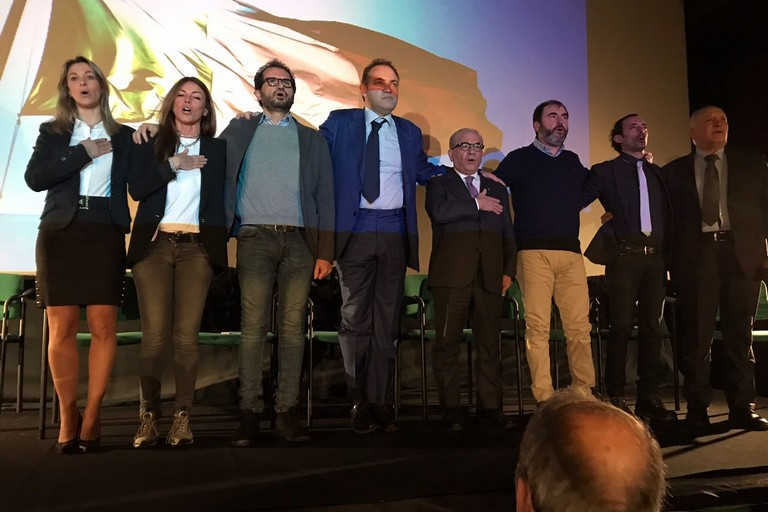 Fratelli d'Italia presenta i candidati alla Camera e al Senato. <span>Foto Luciana Cusanno</span>