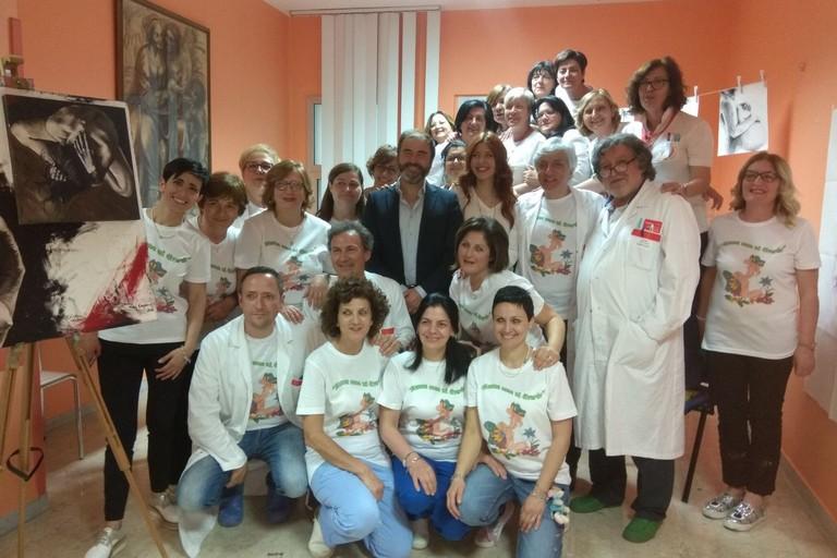 """""""Mamma come mi diverto"""": Inaugurato il nuovo sportello in ospedale per le donne e le mamme (Foto Luciana Cusanno)"""