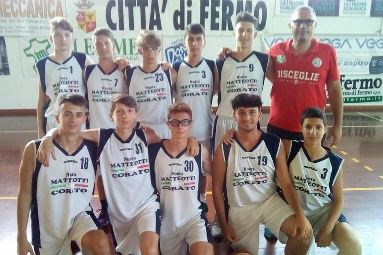 Atleti coratini al torneo nazionale under 15 di Fermo