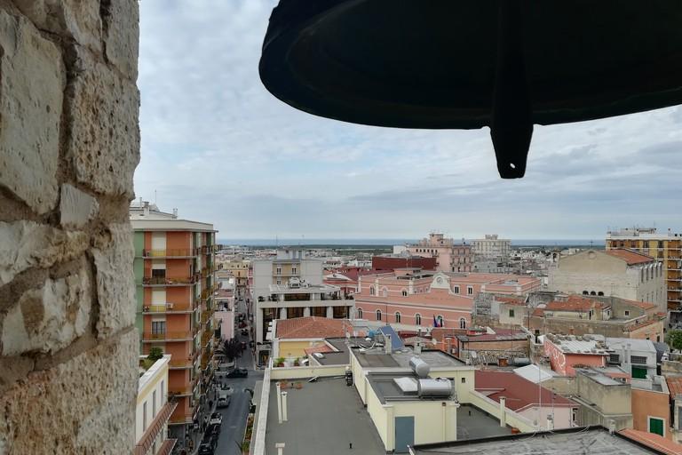 Vista dal campanile della Chiesa Matrice