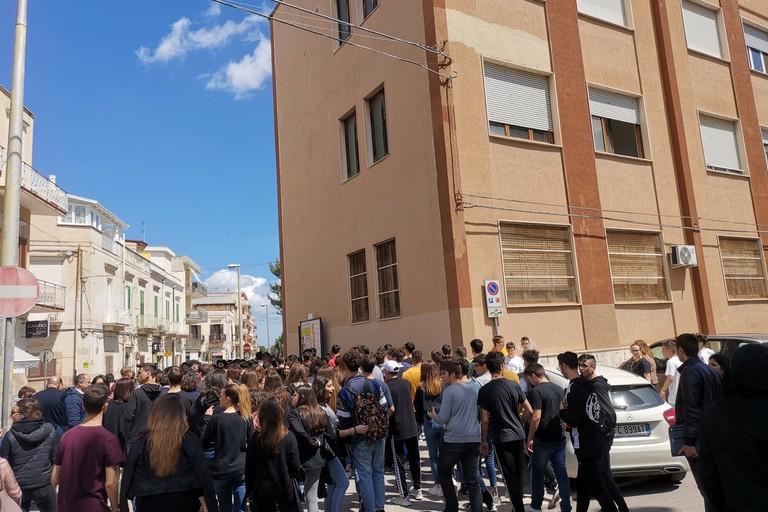 Scuola evacuata