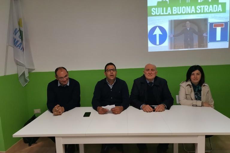 da sinistra Michele Lotito - Vito Bovino - Natalino Petrone