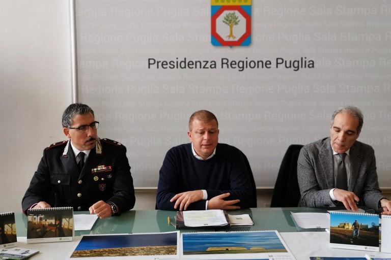 Francesco Tarantini, Giuliano Palomba, Alfonso Pisicchio
