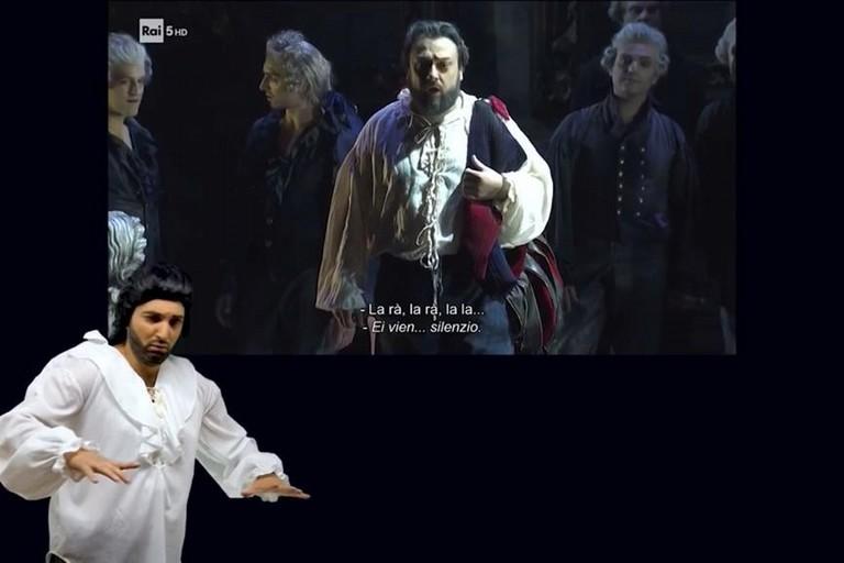 Davide Falco interpreta Rigoletto