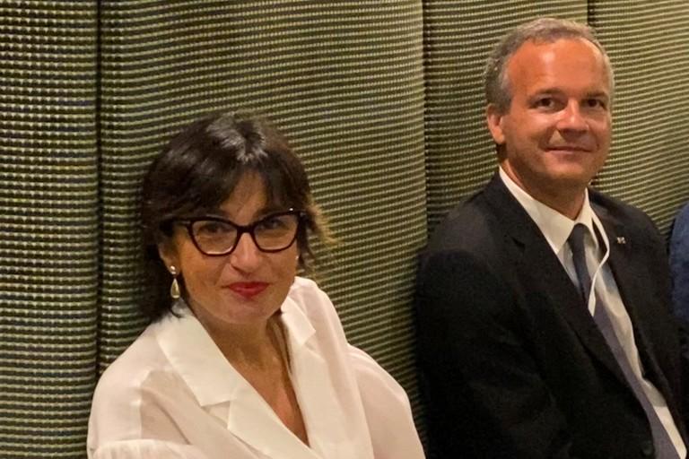 Titti Cinone e Nunzio Angiola