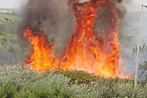 Incendio ASIPU