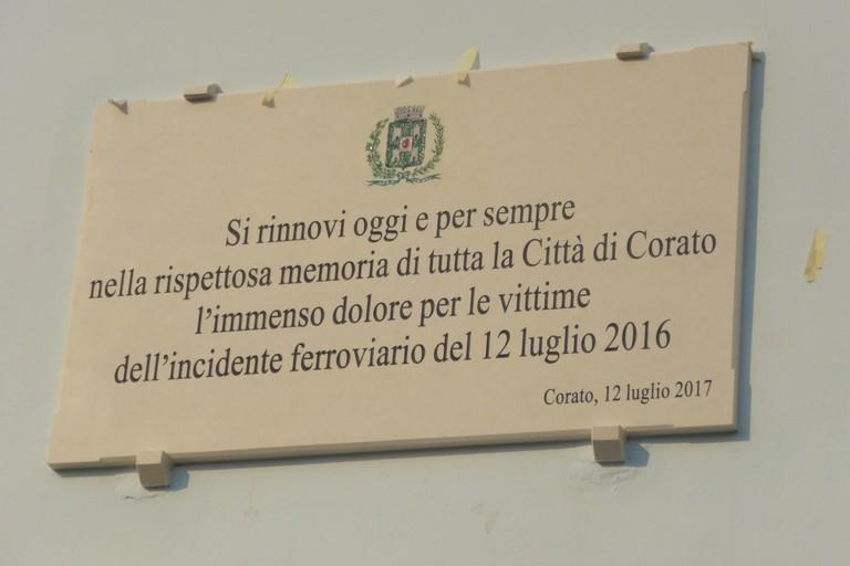 Oggi come due anni fa, nel ricordo delle 23 vittime del disastro ferroviario