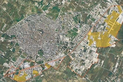 Mappa Corato