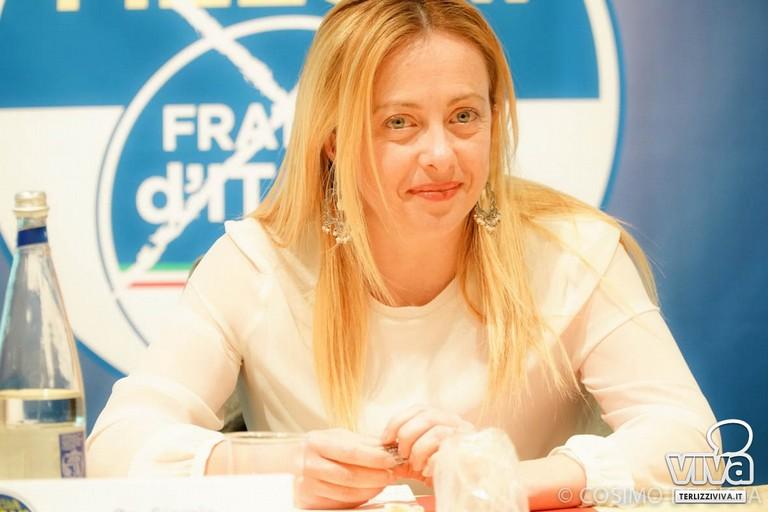Fratelli d'Italia ringrazia gli elettori di Corato. <span>Foto Luciana Cusanno</span>