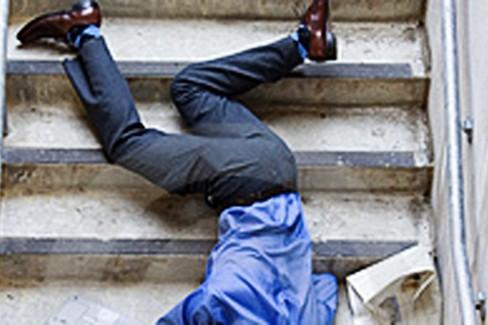 Caduta dalle scale