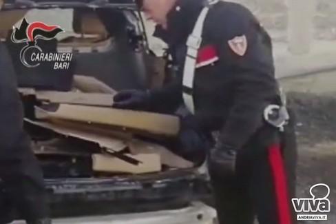 Scoperta la base del riciclaggio delle auto rubate nel nord barese