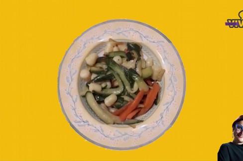 Gli gnocchi con zucchine e carote di Cinzia