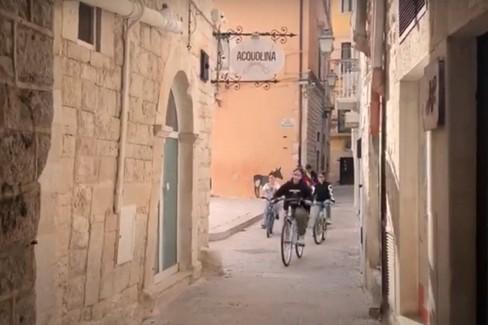 In bicicletta esplorando Corato