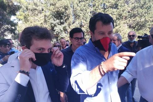 Matteo Salvini a Corato
