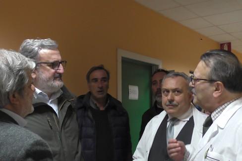 Il Presidente Emiliano visita gli ospedali del nord barese