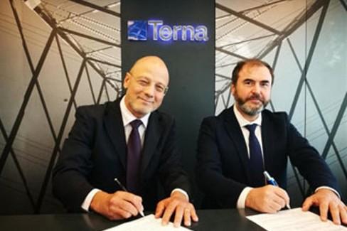 Firma protocollo d'intesa Comune di Corato - Terna