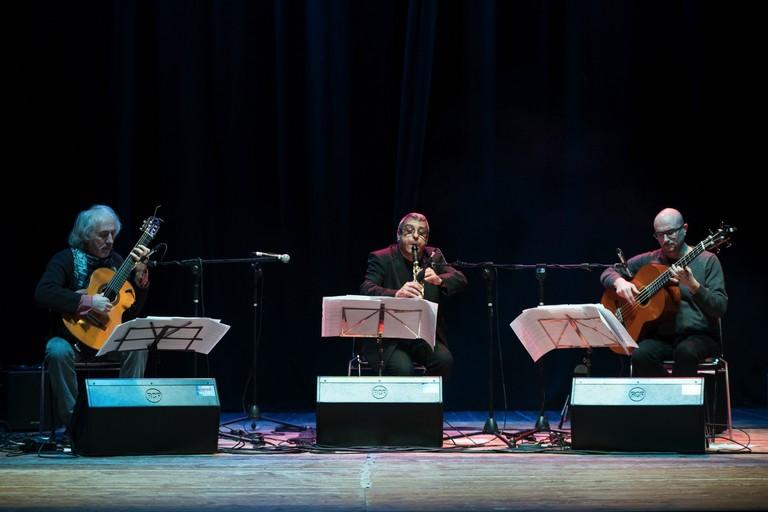 Il trio Mirabassi, Di Modugno e Balducci