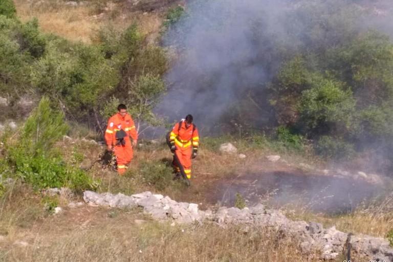 Incendio Monte Ripanno