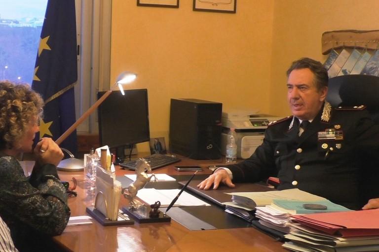 Fiorella Barile intervista il Gen. Mostacchi