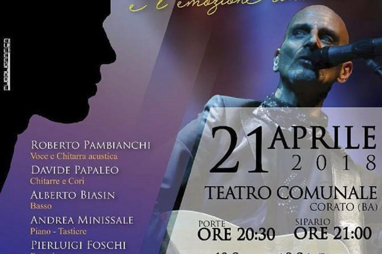 """La Pro Loco Corato presenta: """"Il mio canto libero"""" un omaggio a Lucio Battisti"""
