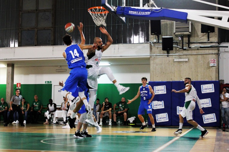 Basket Corato - Scauri. <span>Foto Alessia Pizzichillo</span>