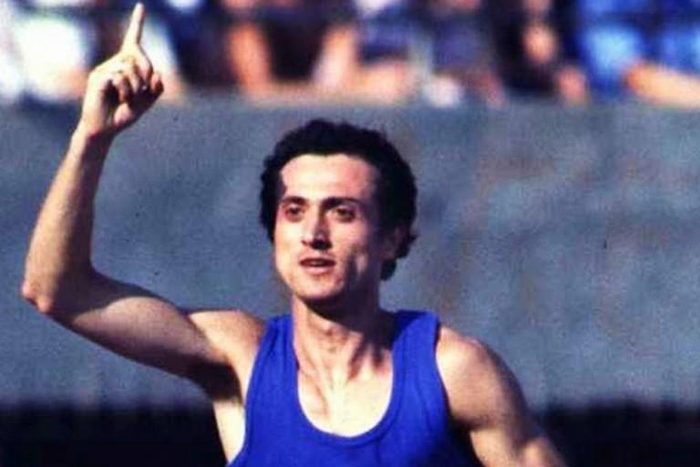 """Tommy Dibari a Corato parla di """"Pietro Mennea, l'uomo che ha battuto il tempo"""""""