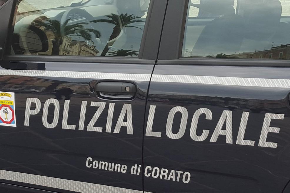 Polizia Locale (Foto Giuseppe Di Bisceglie)
