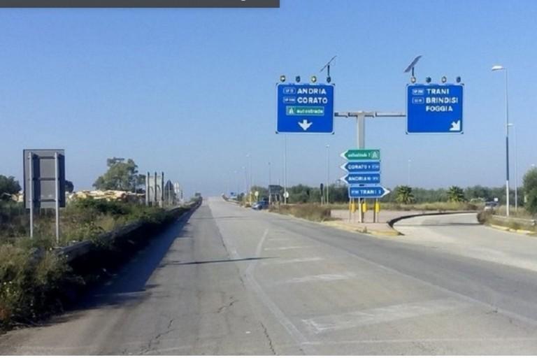 Strada provinciale Trani Corato
