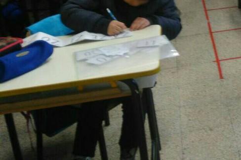 scuola fredda (Foto da Facebook)