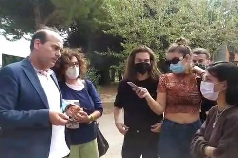 Il sindaco incontra gli studenti