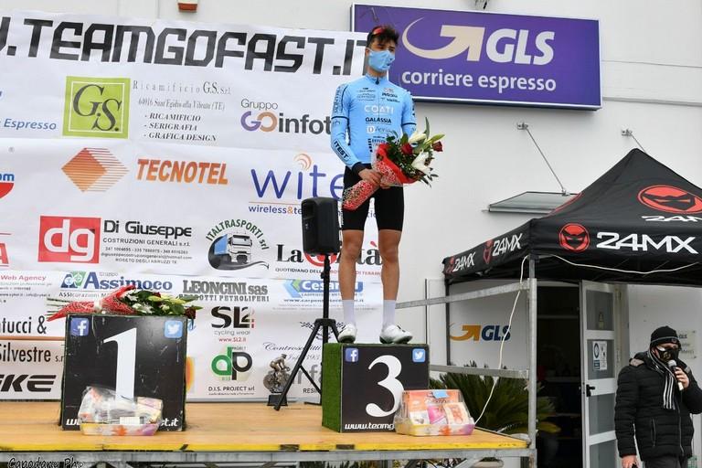 Vittorio Carrer in azzurro