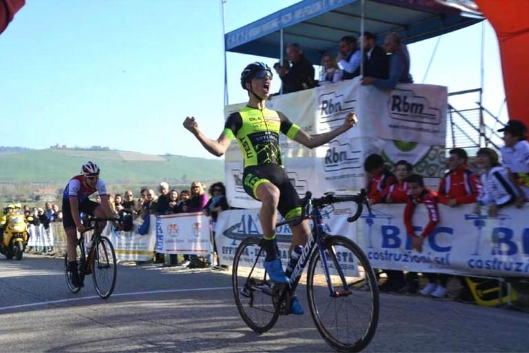 Vittorio Carrer Ciclismo. <span>Foto Roberto Ferrante</span>