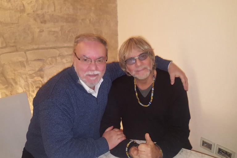 Franco Tempesta e Tony Esposito