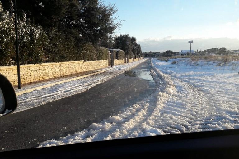 strade neve ghiaccio
